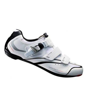 Zapatillas de Carretera Shimano R088 Blancas