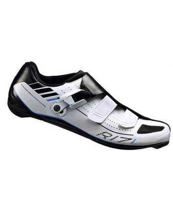 Zapatillas de Carretera Shimano R171 Blancas
