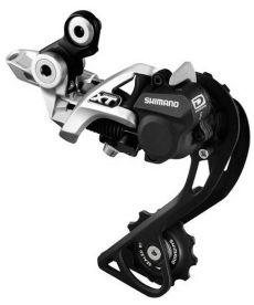 Cambio Shimano XT Shadow Plus GS Direct M786 10 Velocidades Plata
