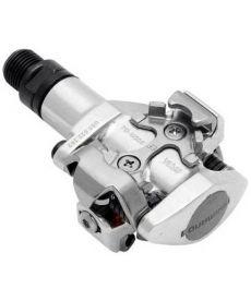 Pedales Shimano PD-M505 Plata SPD Para MTB