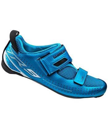 Zapatillas de Triatlón Shimano TR900 Azules
