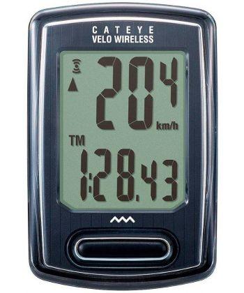 CuentaKilometros Cateye VT230 Sin HILOS Negro
