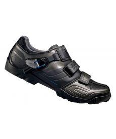 Pack Zapatillas Shimano M089 Negras + Pedales Shimano Deore XT SPD M8020