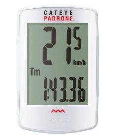 CuentaKilometros Cateye PADRONE PA100WW Blanco