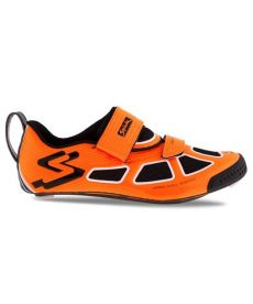 Zapatillas Triatlón Spiuk Trivium C Naranjas