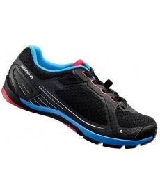 Zapatillas Shimano CW41 Negras + Pedales M520