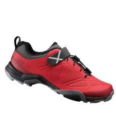 Zapatillas Shimano MT5 Rojo 2017 + Calas
