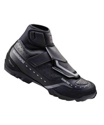 Zapatillas Shimano MW7 Negro 2017 + Calas