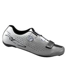 Zapatillas de Carretera Shimano RC7 Blancas