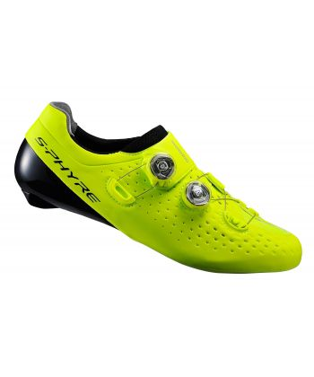 Zapatillas de Carretera Shimano RC9 Amarillas