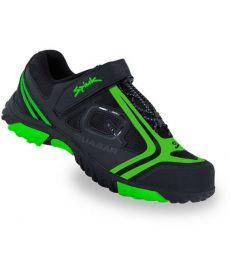 Zapatillas Spiuk Quasar Negras y Verdes