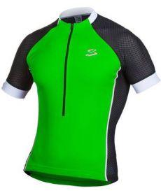 Maillot Ciclista Spiuk Race Men Negro y Verde