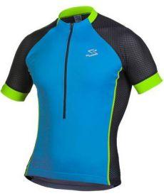Maillot Ciclista Spiuk Race Men Negro y Azul