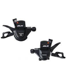 Mando Derecho + Izquierdo Shimano SLX SL-M670 de 10 X 2 y 10 X 3 Velocidades Con Abrazadera