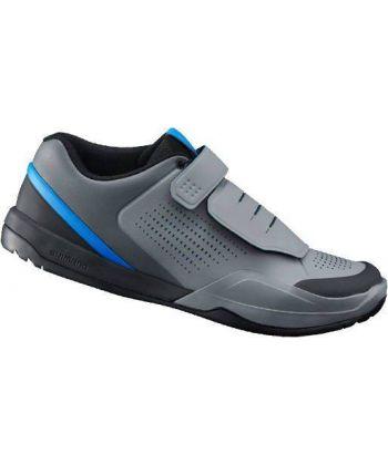 Zapatillas Shimano AM9 Grises y Azules