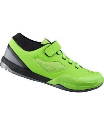 Zapatillas Shimano AM7 Verde Lima