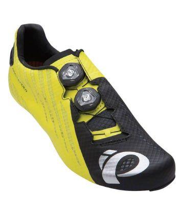 Zapatillas Ciclismo Pearl Izumi P.R.O. Leader V4 Amarillas