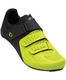 Zapatillas Ciclismo Pearl Izumi Select Road V5 Negras y Amarillas