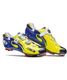 Zapatillas MTB Sidi Drako Amarillas y Azules
