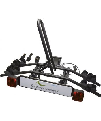 Portabicicletas Green Valley Hitch Eco de 2 bicicletas