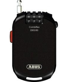 ABUS Combi Flex Pro 2502Cable antirrobo, Black, 85cm