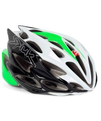 Casco Spiuk Nexion Blanco, Verde y Negro