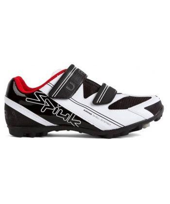 Zapatillas Spiuk UHRA MTB Blancas y Negras