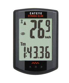 Cuentakilómetros Cateye RD310 STRADA SLIM Negro